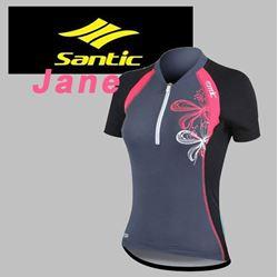 תמונה של חולצת רכיבה נשים שרוול קצר Santic Jane