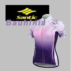 תמונה של חולצת רכיבה נשים שרוול קצר Santic Bauhinia
