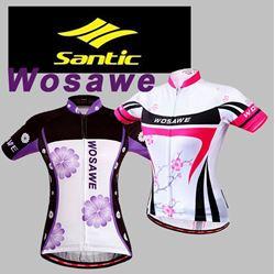 תמונה של חולצת רכיבה נשים שרוול קצר Santic Wosawe