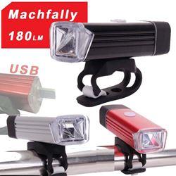 תמונה של פנס קדמי נטען Machfally 180LM USB