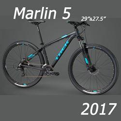 תמונה של אופני הרים Trek Marlin 5 2017