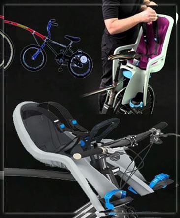 תמונה עבור הקטגוריה כסאות תינוק סבלים ונגררים לאופניים
