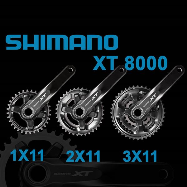 תמונה של קראנק (SHIMANO XT (8000