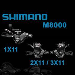 תמונה של סט שיפטרים Shimano XT M8000