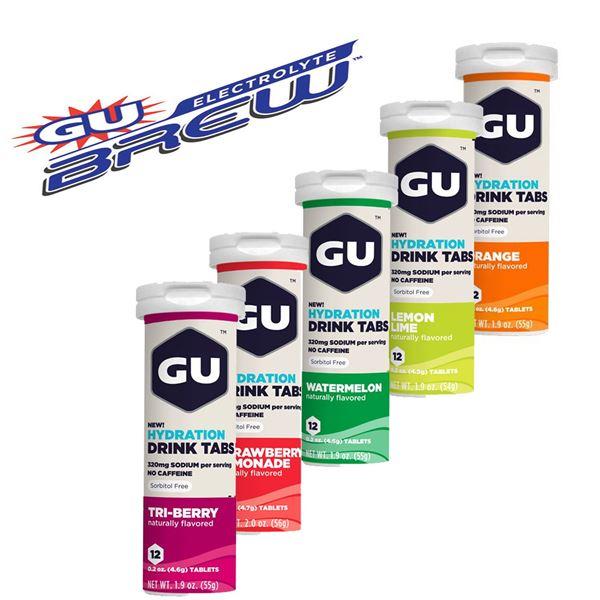 תמונה של תבליות אלקטרוליט GU Brew Tabs