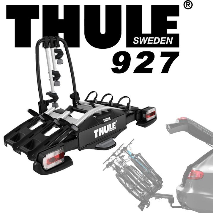 עדכון מעודכן אופני G. מנשא ל-3 זוגות אופניים לוו גרירה Thule VeloCompact 927 GD-81
