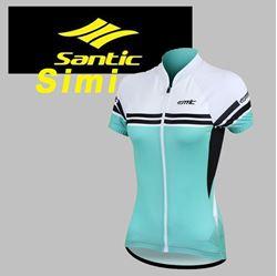 תמונה של חולצת רכיבה נשים שרוול קצר Santic Simi
