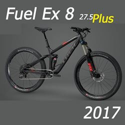 """תמונה של אופני """"Trek Fuel EX 8 2017 +27.5"""