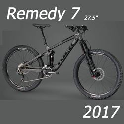 """תמונה של אופני """"Trek Remedy 7 2017 27.5"""