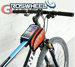 תמונה של תיק לשלדת אופניים ונרתיק ייעודי לסמארטפון Roswheel
