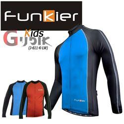 תמונה של חולצת רכיבה חורפית לילדים (Funkier Kids (J-611-K-LW
