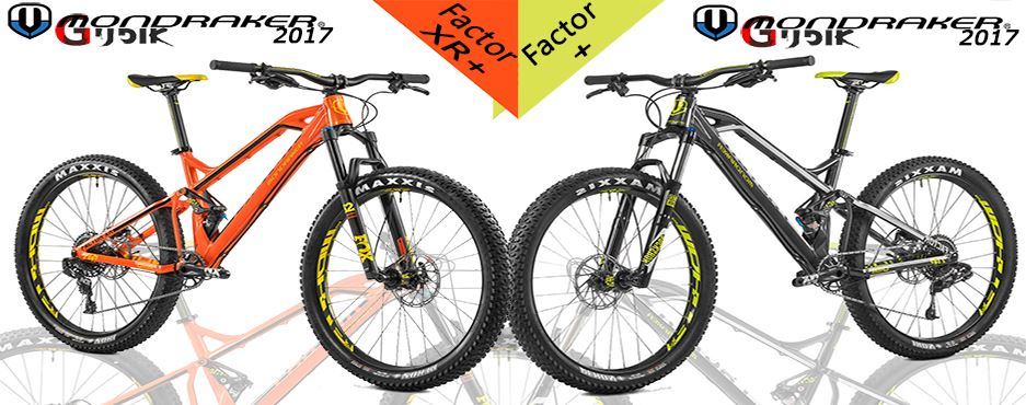 אופני Mondraker Factor XR+ החדש