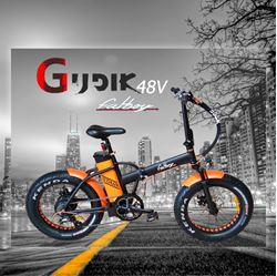 תמונה של אופניים חשמליות Fat Boy 48V