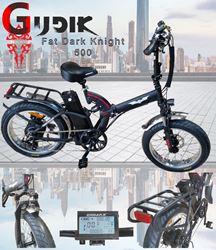 תמונה של אופניים חשמליות EBmax Dark Knight 48V
