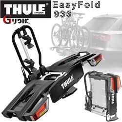 תמונה של מנשא ל-2 זוגות אופניים לוו גרירה 933 Thule EasyFold XT