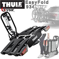 תמונה של מנשא ל-3 זוגות אופניים לוו גרירה 934 Thule EasyFold XT
