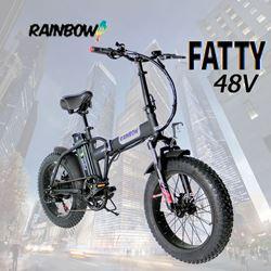 תמונה של אופניים חשמליות Rainbow Fatty 48V