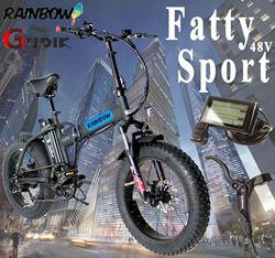 תמונה של אופניים חשמליות Rainbow Fatty Sport 48V