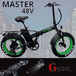 תמונה של אופניים חשמליות Master צמיגי בלון 48V