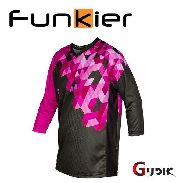 תמונה של חולצת רכיבה 3/4 קיץ נשים Funkier JWE821