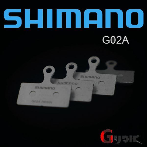 תמונה של רפידות ברקס מקוריות של Shimano Deore XTR XT SLX G02A