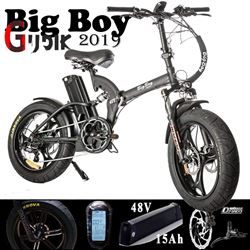 תמונה של אופניים חשמליות מקצועיות Big Boy 48V 2019
