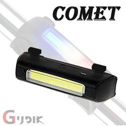 תמונה של נצנץ נטען COMET 120LM USB