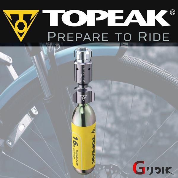 תמונה של משאבת טופיק Topeak Micro Airbooster CO2