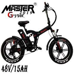 תמונה של אופניים חשמליות Master צמיגי בלון 48V/15Ah