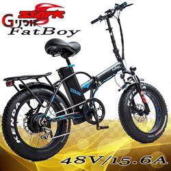 תמונה של אופניים חשמליות צמיגי בלון Stark FatBoy 48V 15A