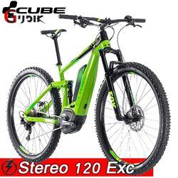 תמונה של אופני Cube Stereo Hybrid 120 EXC 500