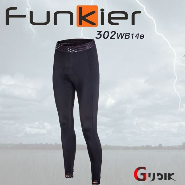 תמונה של מכנס רכיבה ארוך לחורף Funkier S302WB14e