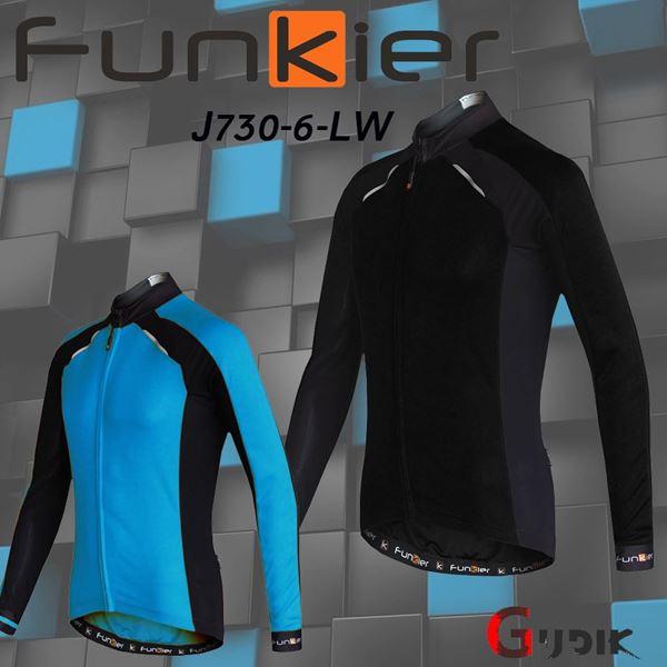 תמונה של חולצת רכיבה חורף שרוול ארוך Funkier Talana J730-LW