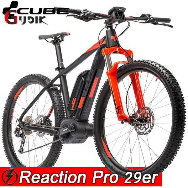מדהים אופני G. אופני הרים חשמליים Cube Emtb Reaction Pro AS-38