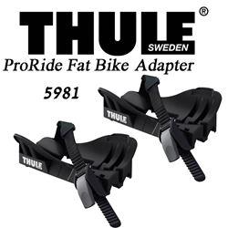 תמונה של זוג עריסות גלגל רחבות Thule ProRide Fatbike 5981 למנשא אופניים 598