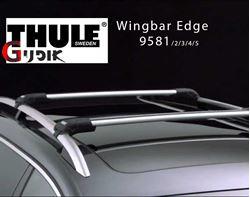 תמונה של גגון אלומיניום לקשתות Thule WingBar Edge 958X