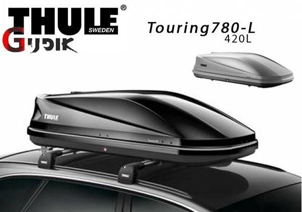 תמונה של תא חפצים לגג Thule touring780 420L