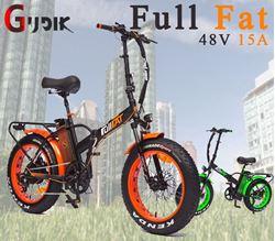 תמונה של אופניים חשמליות צמיגי בלון FG FullFat 48V 15A