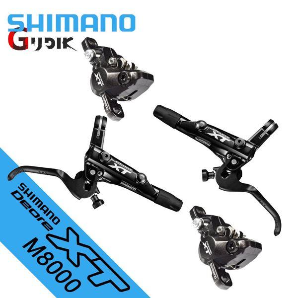 תמונה של סט בלמים/מעצורים Shimano XT M8000