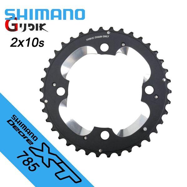 תמונה של גלגל שיניים Shimano (785) XT 38T