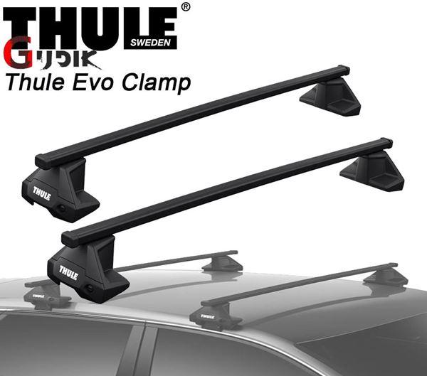 תמונה של גגון THULE Evo Clamp לפי רגל 7105 למשקופים