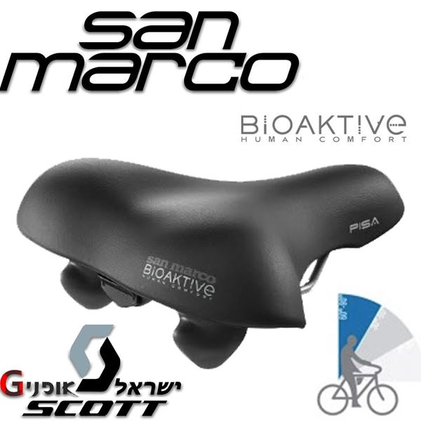 תמונה של אוכף גברים San Marco BioAktive® Pisa