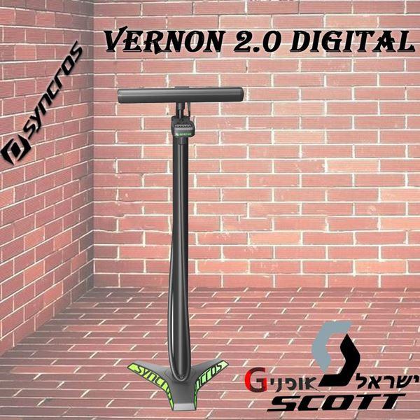 תמונה של משאבת רצפה Syncros Vernon 2.0 Digital