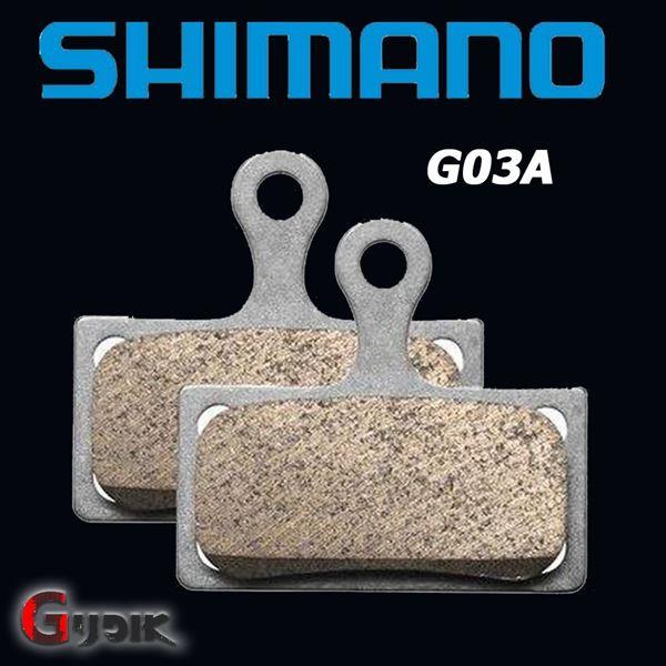 תמונה של רפידות ברקס מקוריות של Shimano XTR XT SLX G03A