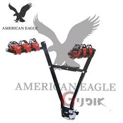 תמונה של מנשא 3 אופניים לוו גרירה American Eagle