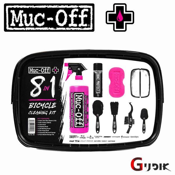 תמונה של ערכת טיפוח לאופניים Muc Off 8 in 1 Bicycle Cleaning Kit