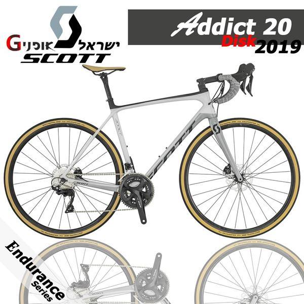 תמונה של אופני כביש Scott Addict 20 Disc