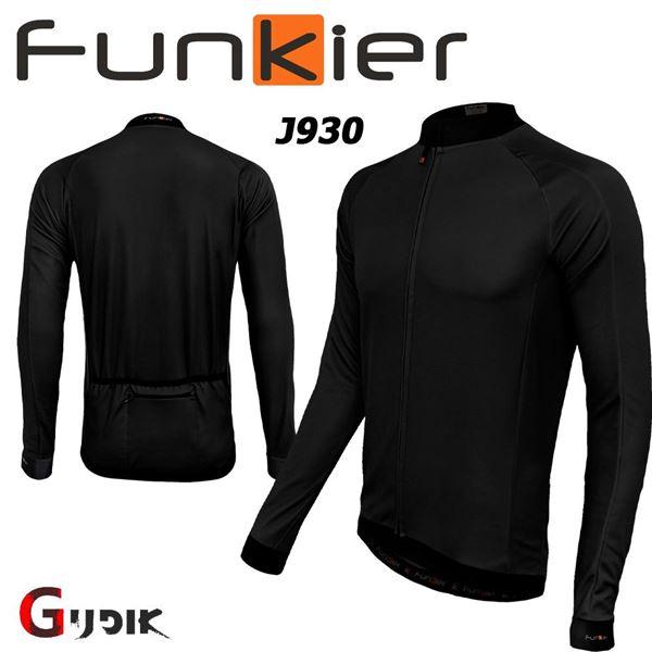 תמונה של חולצת רכיבה חורף שרוול ארוך Funkier Parma J930-LW