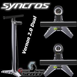תמונה של משאבת רצפה Syncros Vernon 2.0 Dual