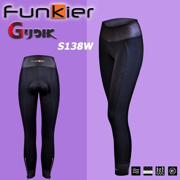 תמונה של מכנס רכיבה נשים ארוך לחורף Funkier S138W-B13
